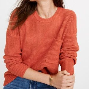 Madewell Thompson Pullover Sweater